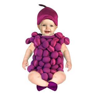 コスプレ 子供 衣装 幼児 人気 赤ちゃん コスチューム ぶどう グレープ 食べ物 フルーツ 果物 仮装 ロンパース|acomes