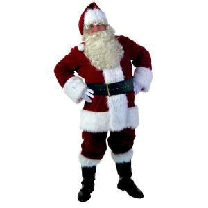サンタクロース コスチューム 大人 メンズ コスプレ 大きいサイズ 本格的 衣装 クリスマス 仮装 海外|acomes