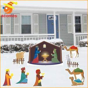 クリスマス 飾り キリスト 生誕 立て 看板 デコレーション パーティー イベント 装飾