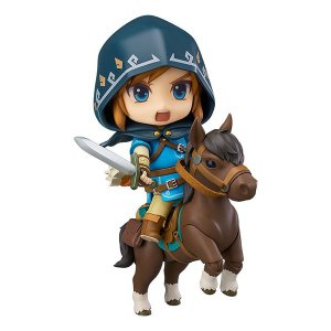 ねんどろいど ゼルダの伝説 リンク ブレスオブザワイルド グッズ 人形 フィギュア 馬 セット デラックス版|acomes