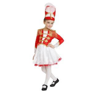 マーチングバンド 楽隊長 リーダー バトンガール 衣装 コスチューム 子供 女の子 acomes