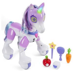 電子 電動 おもちゃ 動物 ロボット 人形 ユニコーン ズーマー 海外 acomes