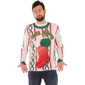 おもしろTシャツブランドFAUX REALより靴下がプリントされたセーター のTシャツです。  商品...