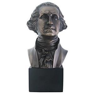 アート インテリア 飾り 彫刻 オブジェ ブロンズ 銅像 置物 ジョージ ワシントン アメリカ 政治家 大統領 acomes