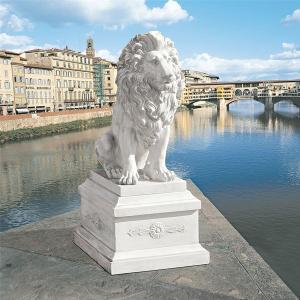 アート インテリア 飾り 彫刻 オブジェ 石像 置物 ライオン acomes