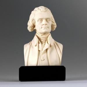 アート インテリア 飾り 彫刻 オブジェ 石像 置物 トーマス・ジェファーソン アメリカ 政治家 大統領 acomes