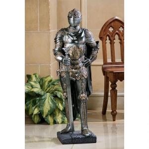 中世 ヨーロッパ 騎士 鎧 アート 彫刻 ホーム インテリア エクステリア 屋外 庭 ガーデン 飾り 石像 オブジェ acomes