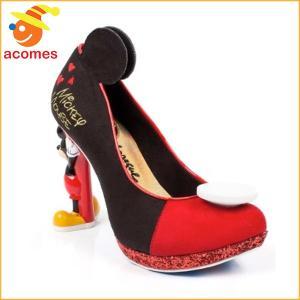 ミッキー マウス ハイヒール 靴 イレギュラー チョイス x ディズニー コラボ IRREGULAR CHOICE|acomes