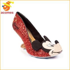 靴 チョイス シューズ ディズニー フラット x イレギュラー チップとデール コラボ IRREGULAR CHOICE