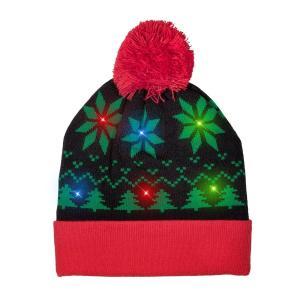 光る ニット帽 クリスマス コスプレ 仮装 コスチューム|acomes