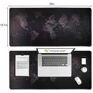 ゲーミングなどで使える大きいのマウスパッドです。滑らかな表面が素早いマウスの動きにも対応。 裏側は滑...
