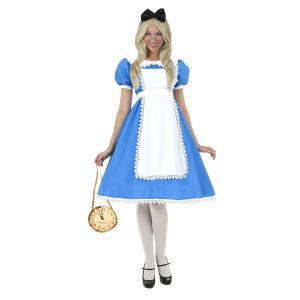 アリス コスプレ  大きいサイズ 海外 コスチューム 大人 レディース ディズニー キャラクター コスプレ 衣装 仮装|acomes