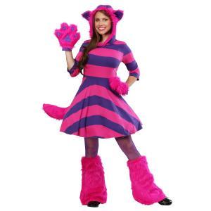 ふしぎの国のアリス チェシャ猫 コスチューム 大人 レディース ディズニー キャラクター 動物 コスプレ 衣装 仮装|acomes