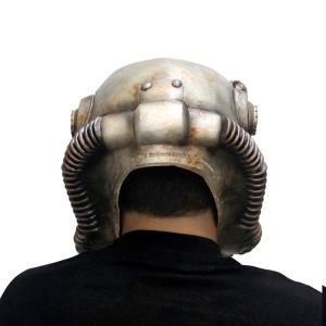 フォールアウト パワーアーマー ヘルメット 子供用 ラテックス コスプレ ゲーム イベント ハロウィン パーティー|acomes|02