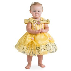ベル 美女と野獣  コスプレ 赤ちゃん ベビー服 幼児 ドレス 子供 コスチューム ディズニー 衣装 ハロウィン パーティー イベント 誕生日 記念写真|acomes