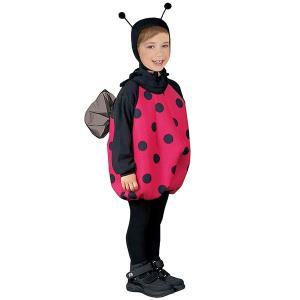 てんとう虫 子供 コスチューム コスプレ 仮装 衣装 昆虫|acomes