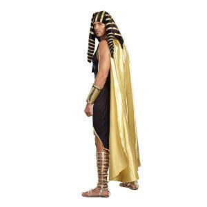 ツタンカーメン コスチューム 大人 男性 メンズ 古代 エジプト 王様 コスプレ 仮装 衣装|acomes|02