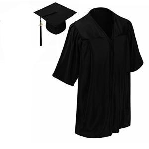 卒業式  ガウン 式服 アカデミックガウン アカデミックドレス 帽子 セット 子供 色が選べる 海外 コスプレ 仮装 衣装|acomes