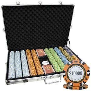 カジノ ゲーム モンテカルロ 3トーン ポーカー チップ セット|acomes