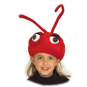 蟻 アリ 帽子 被り物 赤 子供 動物 仮装 コスプレ|acomes
