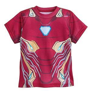 マーベル「アイアンマン」子供用半袖Tシャツです。ディズニー公式商品です。