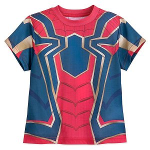 マーベル「スパイダーマン」子供用半袖Tシャツです。ディズニー公式商品です。