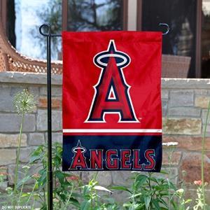 ロサンゼルス エンゼルス オブ アナハイム グッズ 両面 ガーデン フラッグ 飾り 旗|acomes
