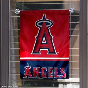 ロサンゼルス エンゼルス オブ アナハイム グッズ 両面 ガーデン フラッグ 飾り 旗|acomes|02