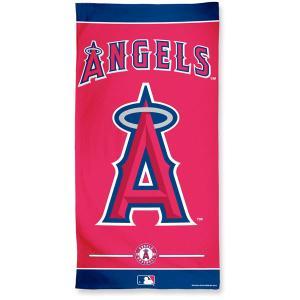 ロサンゼルス エンゼルス オブ アナハイム MLB グッズ エンブレム ビーチ タオル|acomes