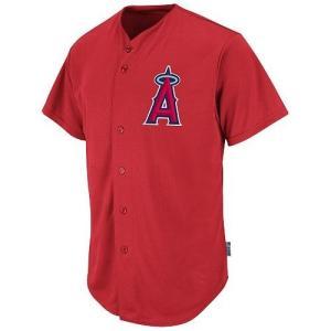 ロサンゼルス エンゼルス オブ アナハイム MLB ジャージ トップ メジャーリーグ クール ベース レプリカ フルボタン カスタム 番号・名入れOK|acomes