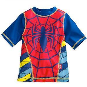 スパイダーマン ラッシュガード マーベル 男児 子供 水着|acomes