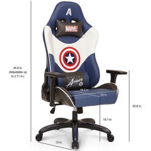 プレジデントチェアー エグゼクティブチェア 社長椅子 キャプテン アメリカ ゲーミング チェア アベンジャーズ 椅子|acomes