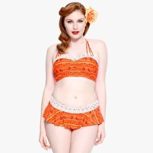ディズニー モアナと伝説の海のモアナをイメージしたジュニアサイズのボトムパンツ水着です。  【ご注意...