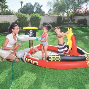 プール 家庭用 プール ビニールプール 海賊船 水遊び パイレーツ 子供 浅い|acomes