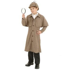 シャーロックホームズ 衣装 帽子 コスチューム  探偵 衣装 子供 コナン|acomes