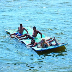 ウォーター マット 水に浮く フローティング マット Waterpad|acomes