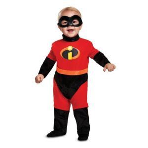 インクレディブルの幼児・子供用コスチュームです。アイマスク、ジャンプスーツのセットです。  *お手入...
