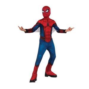 スパイダーマン ホームカミングの子供用コスチュームです。マスク、靴カバー付きのジャンプスーツです。ポ...
