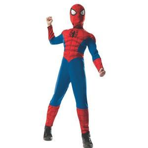 アルティメット・スパイダーマン/ヴェノム の子供用筋肉付きリバーシブルコスチュームです。マスク付きの...