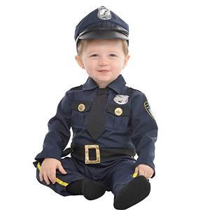 ポリス ベビー 赤ちゃん コスチューム 警察官 ハロウィン コスプレ イベント パーティー 幼児 子供|acomes