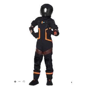 ハロウィン コスプレ 子供 ダークボイジャー コスチューム フォートナイト Fortnite  ジュニア キッズ イベント 衣装 テレビゲーム|acomes