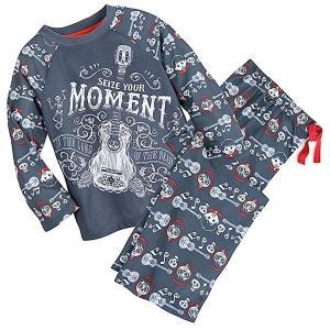 【リメンバー・ミー 子供用パジャマセット】 ミゲルスカル、ギターが描かれた長袖長ズボンのパジャマセッ...