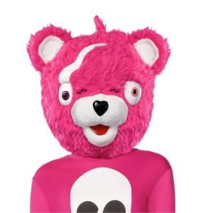 ピンクのクマちゃん ハーフ マスク フォートナイト Fortnite  コスプレ テレビゲーム|acomes