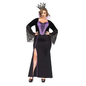 白雪姫 女王 継母 衣装 大きいサイズ コスチューム セクシー ディズニー ヴィランズ コスプレ 仮装|acomes