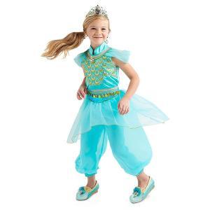アラジン ジャスミン 子供用 コスチューム 衣装 コスプレ 仮装 ハロウィン 女の子用 ディズニー プリンセス acomes