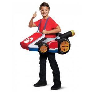 スーパーマリオブラザーズ マリオカート コスチューム マリオ 子供 男の子 グッズ テレビゲーム