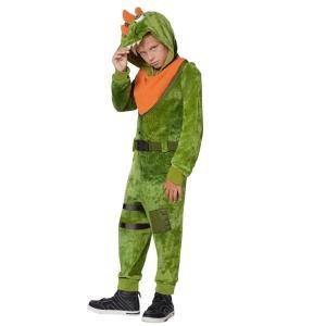レックス コスチューム フォートナイト Fortnite  ハロウィン コスプレ イベント 衣装 子供 キッズ テレビゲーム|acomes