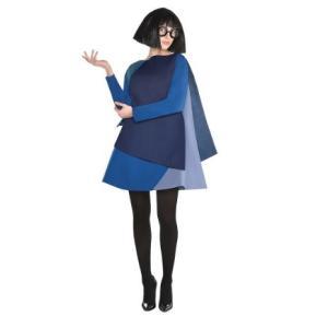 エドナのレディース用コスチュームです。ウィッグ、眼鏡、チュニックのセットです。  *タイツ、靴は含ま...