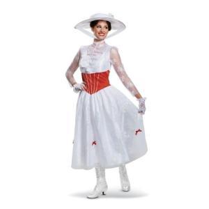 メリー ポピンズ コスチューム コスプレ 衣装 メアリーポピンズ リターンズ ディズニー ハロウィン 仮装 イベント パーティー 大人 レディース|acomes