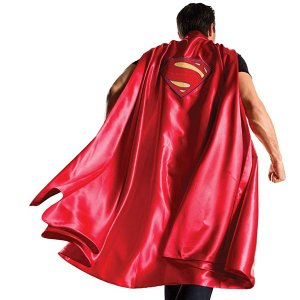 スーパーマン デラックス マント ケープ コスチューム バットマンvsスーパーマン ジャスティスの誕生 衣装 ハロウィン コスプレ 仮装 イベント パーティー 大人|acomes